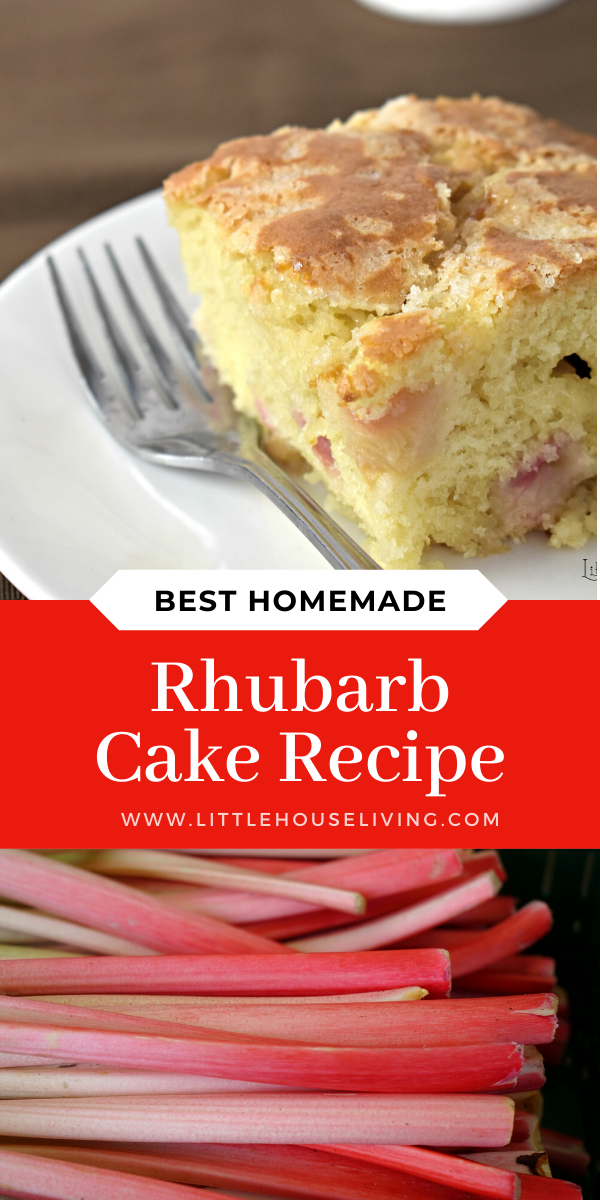 Rhubarb Cake With Buttermilk Recipe In 2020 Easy Baking Recipes Rhubarb Cake Recipes Rhubarb Desserts Recipes