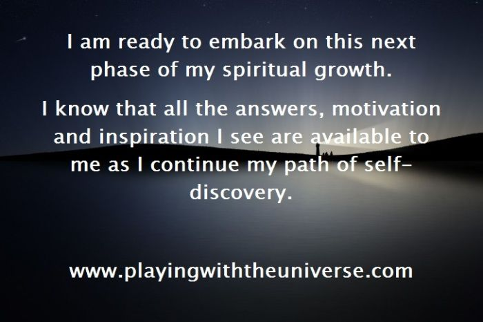 Be A Light For Others. A New Level Of Spiritual Growth Is