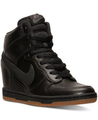 brand new 6b769 82320 NIKE Nike Women S Dunk Sky Hi Essential Casual Sneakers From Finish Line.   nike  shoes   all women