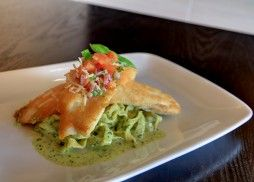 Parmigiana Crusted Tilapia is a great choice for dinner!