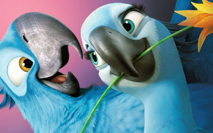 Birds from Rio and Rio 2 in real life blog №1