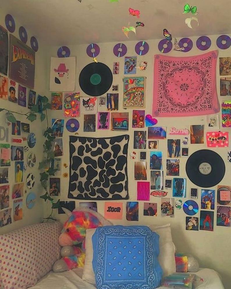 Digital download- Indie/Alt Photo Wall Collage 55