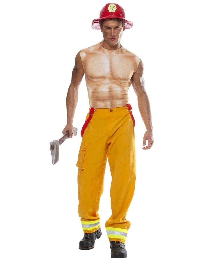 6d3b531fd2c Fireman hottie costume for Valentines Day