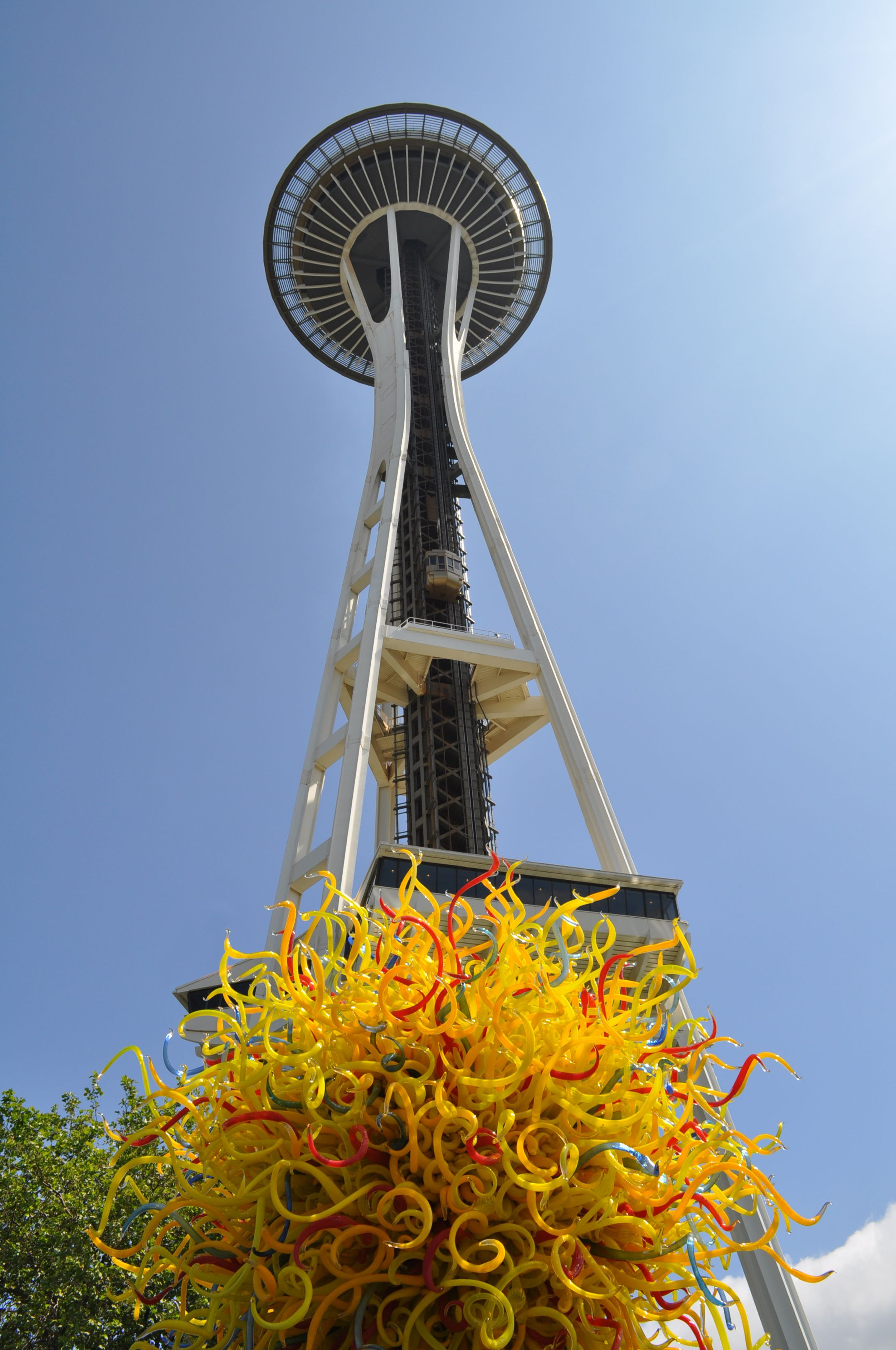 Chihuly Gardens, Seattle Center, May 2015