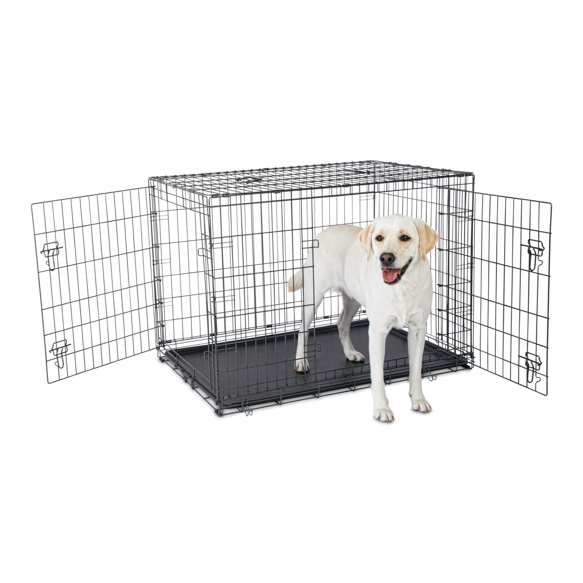 Premium 2 Door Dog Crate 42 L X 28 W X 30 H In 2019 Products