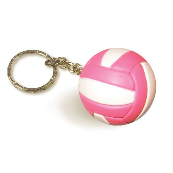 Tandem Volleyball Keychain Volleyball Accessories Volleyball Jewelry Volleyball Necklace