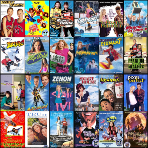 All the movies from my childhood! disney channel original