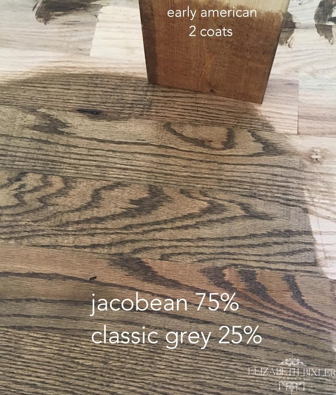 Minwax Stain On Red Oak Floors And
