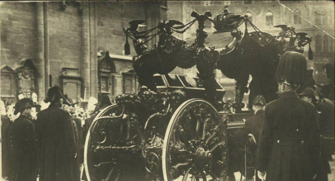 Funeral service for Emperor Franz Joseph