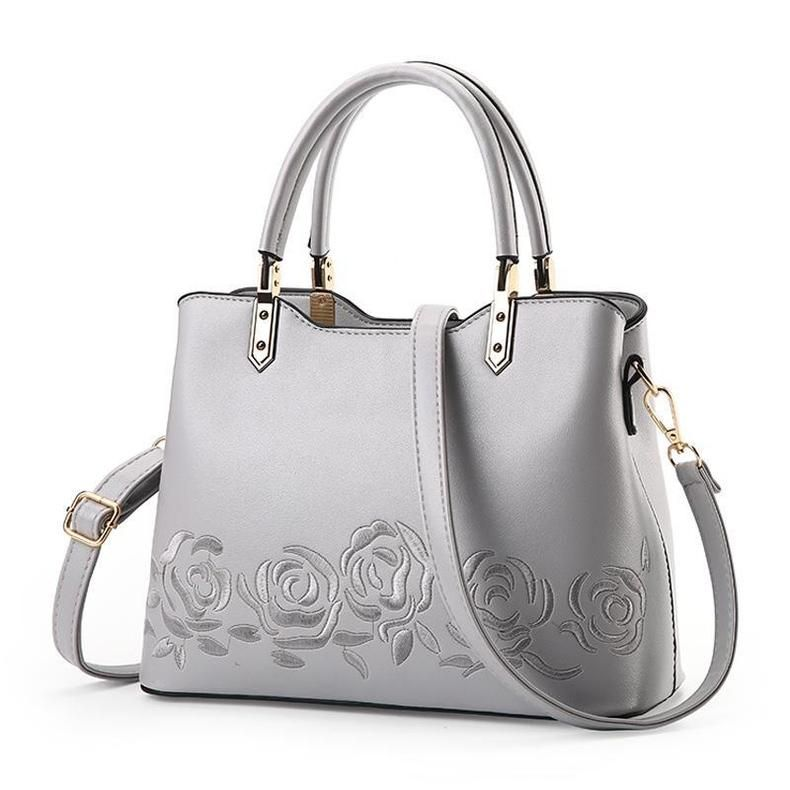 03be593e Women Premium Quality Faux-Leather Tote Messenger Crossbody Bag with ...