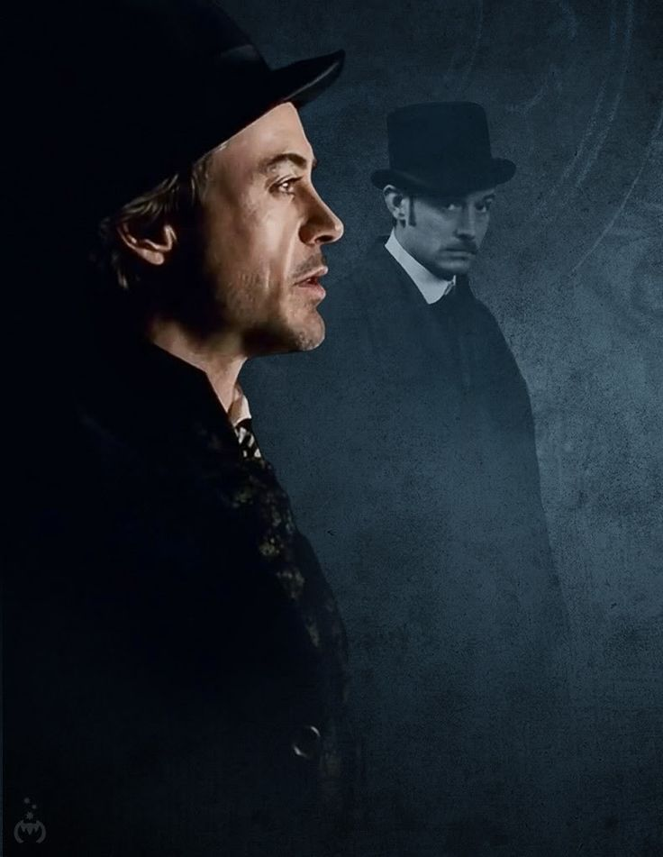 """Sherlock Holmes"" - Robert Downey Jr. and Jude Law 