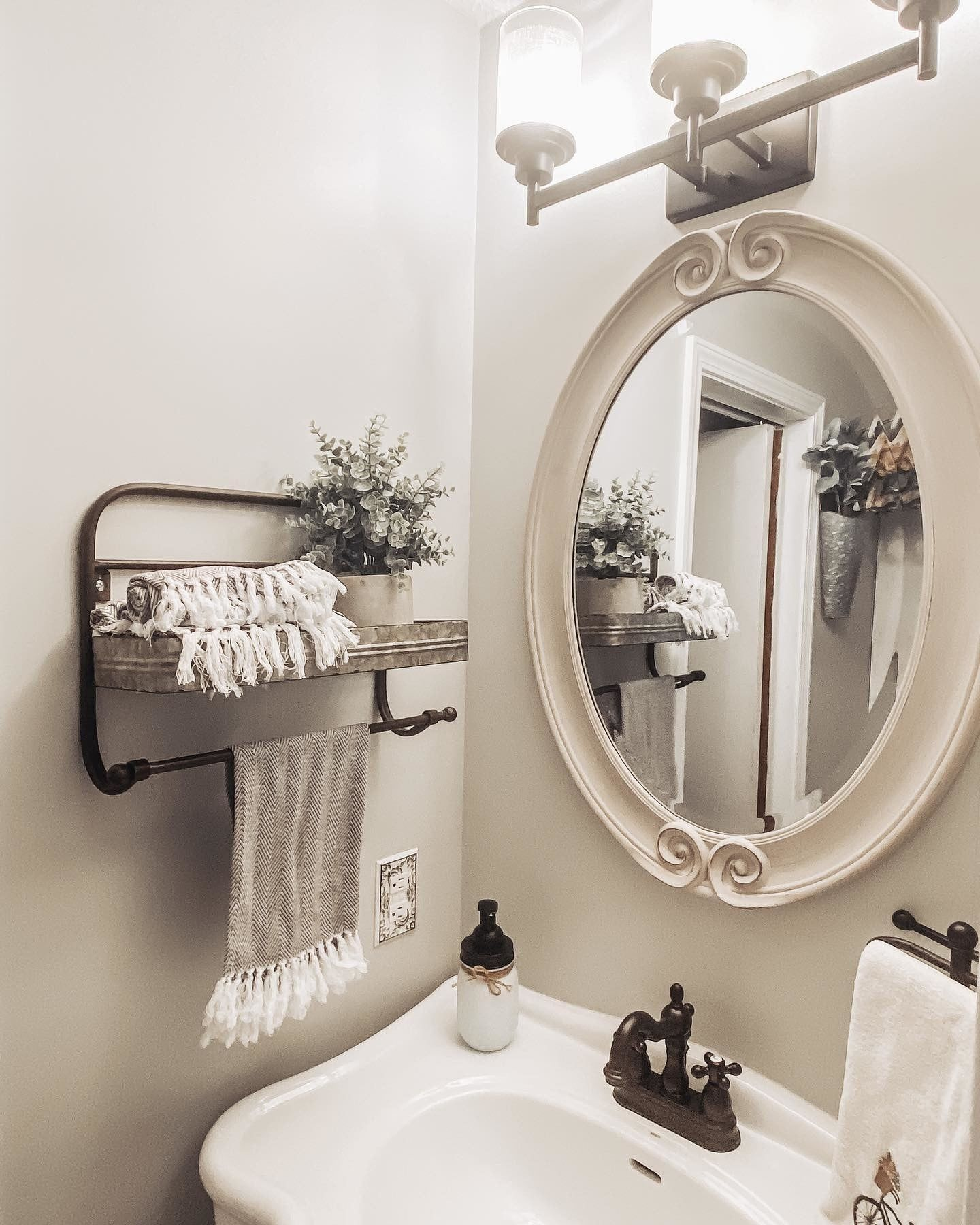 Ideas for your bathroom makeover! ✨ Tap the image to shop mirrors