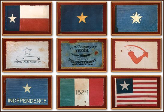 Flags Of The Republic Republic Of Texas Texas History Texas Revolution