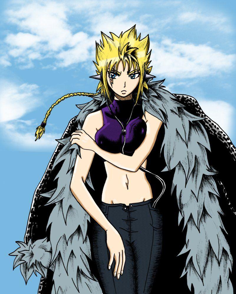 Anime Manga Fairy Tail Character Laxus Gender Swap Fairy