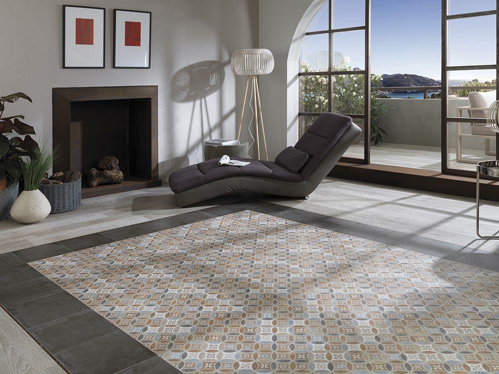 Barcelona B - Porcelain Tiles Mosaic Pattern Galactic Tiles http ...