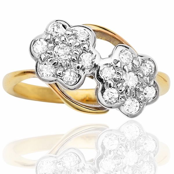 diamond double rings tell wedding daisy your pin me art deco ring