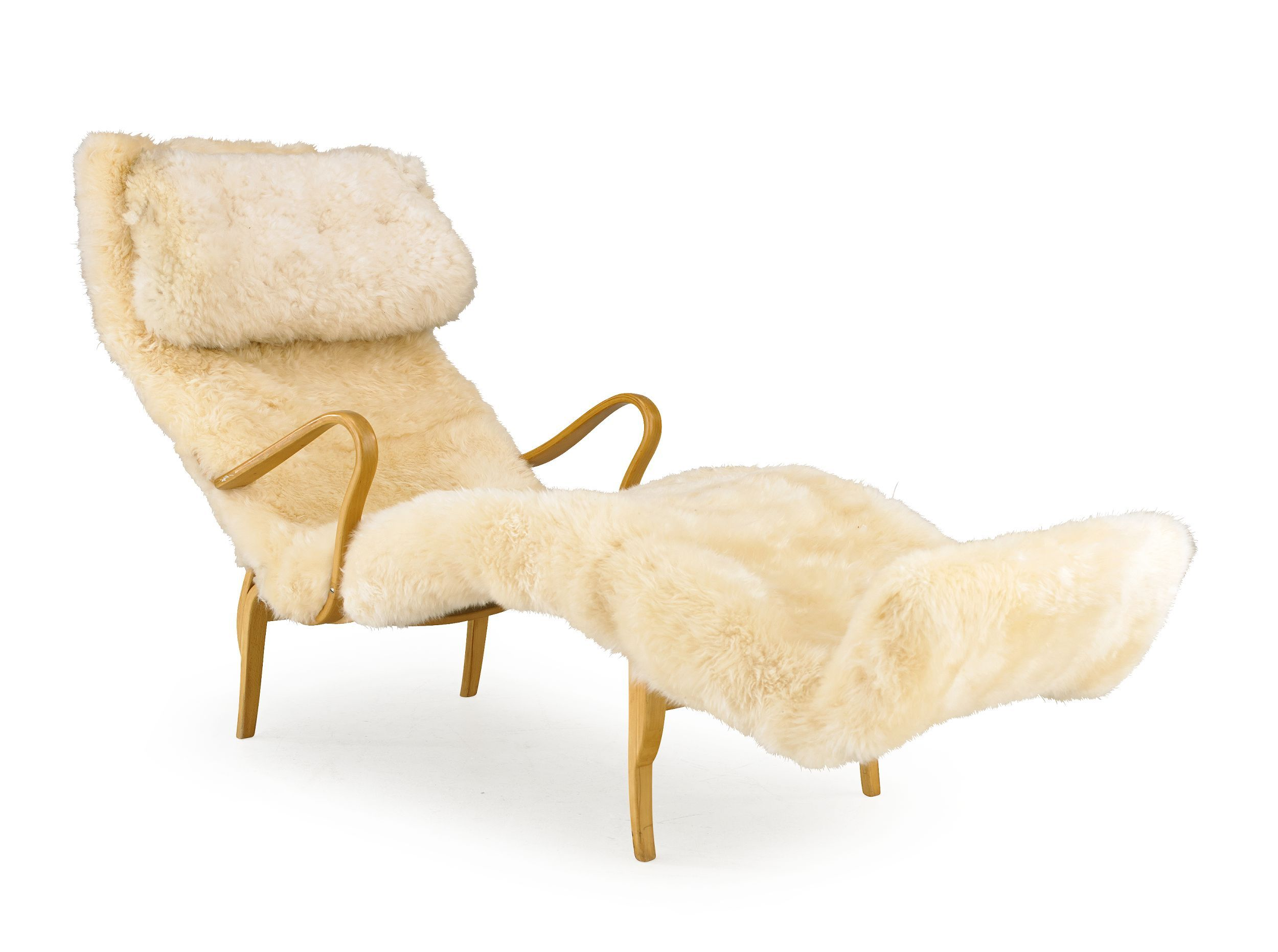 Bruno Mathsson Pernilla chair. Fuzzy! (With images