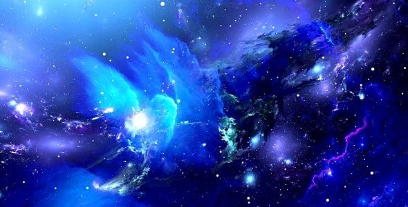 Pin by kelsey on astronomy blue space orion nebula - Deep blue space wallpaper ...