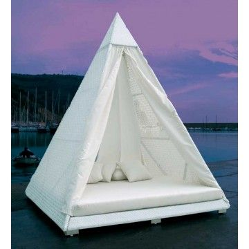 Sofá cama exterior Piramide #Ambar #Muebles #Deco #Interiorismo ...