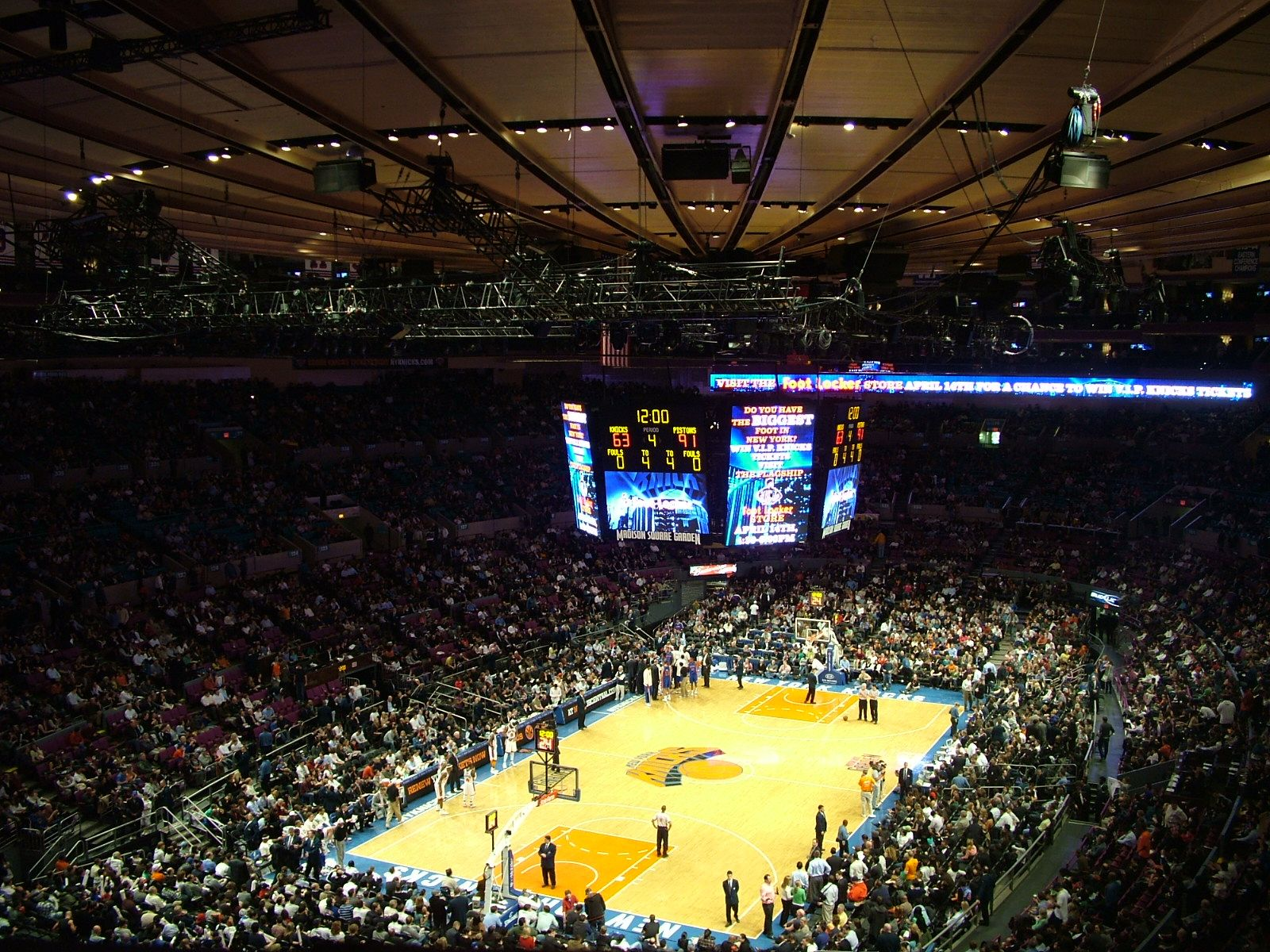 Madison Square Garden We Saw A Knicks Game Here City Break