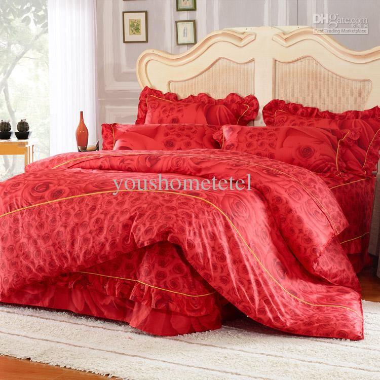 Wholesale Bed In A Bag Buy 100 Cotton Korean Rustic 4pcs Bedding