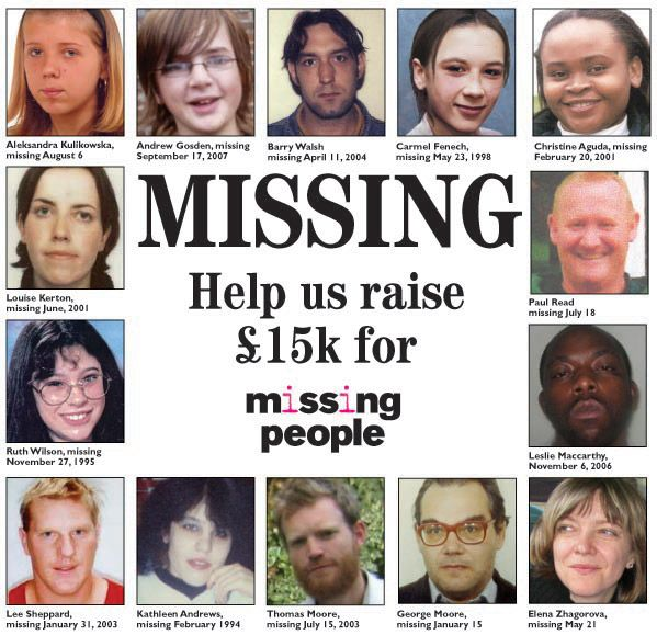 recent missing people - 599×579