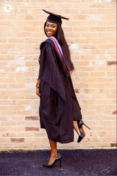Nigerian Lady Dedicates First Class Degree To Mum Who Died During - first class degree
