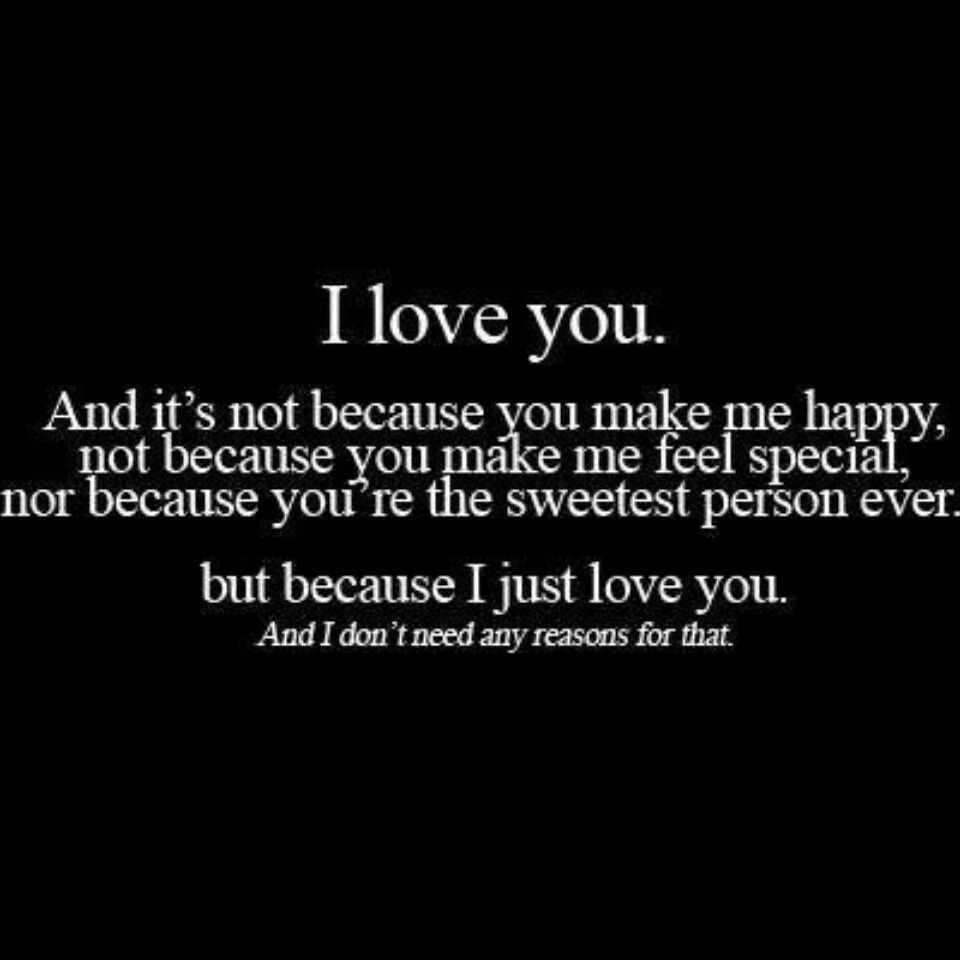Love You Thank You Quotes: I Love You Quote