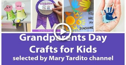 Easy Grandparents Day Crafts for Kids - Best Ideas of Grandparents Day Gifts #grandparentsdaygifts