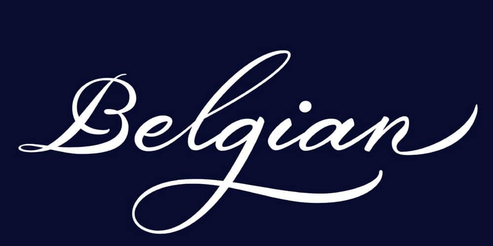 Download Belgian Signature Calligraphy Font   Free calligraphy ...