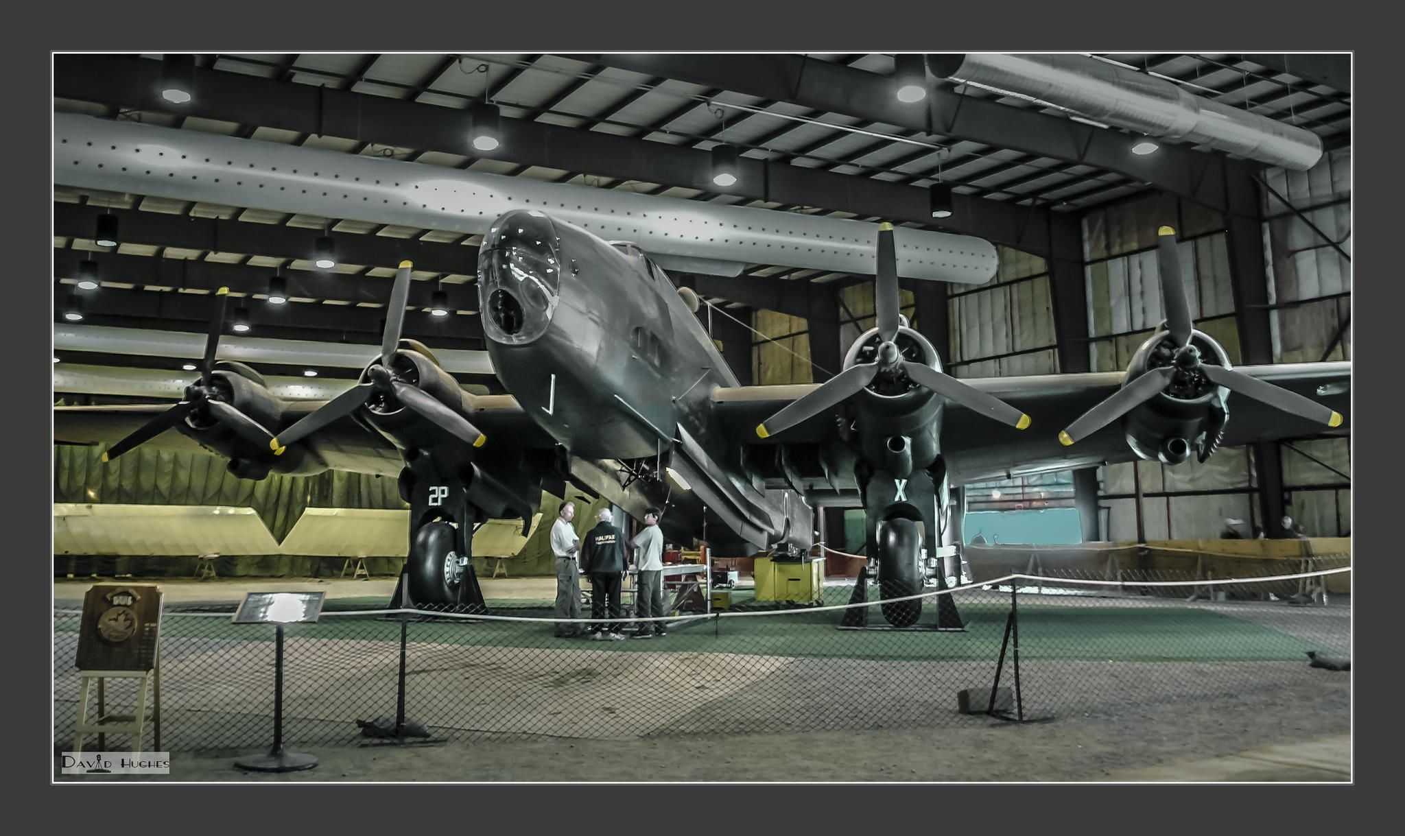 Photograph WWII Hampden Bomber by Dave Hughes on 500px