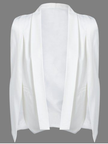 GET $50 NOW | Join RoseGal: Get YOUR $50 NOW!http://www.rosegal.com/blazer/slit-cape-sleeve-shawl-collar-660330.html?seid=6813188rg660330