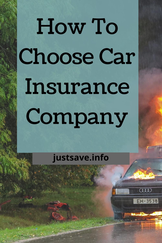 How To Choose Car Insurance Company Car Insurance Classic Car