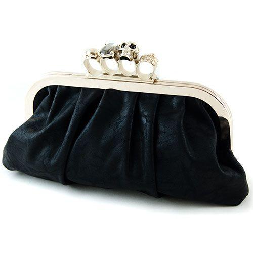 Czarna Torebka Wizytowa Kastet Czaszki Nowosc 2544791755 Oficjalne Archiwum Allegro Formal Bag Bags Clutch