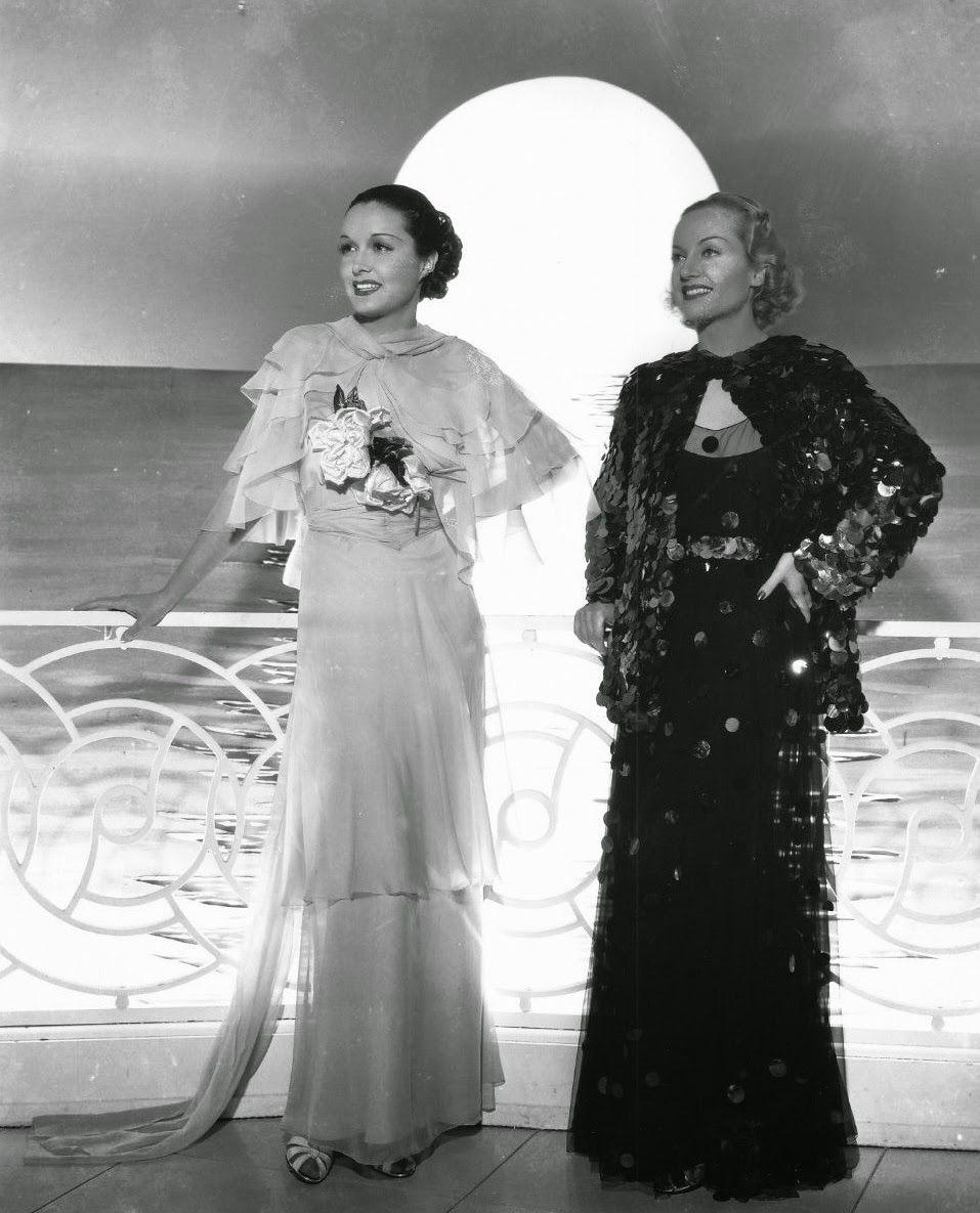 Gail Patrick and Carole Lombard