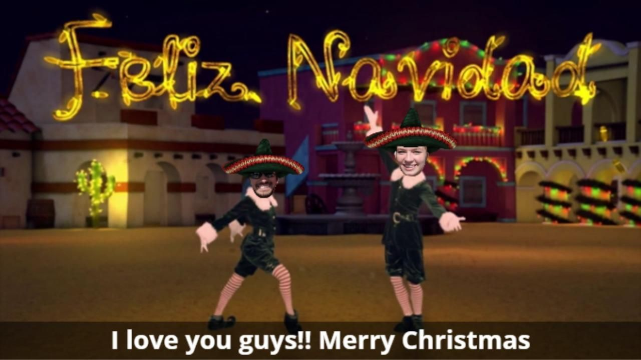 Check out my moves elfyourself just made me the dancer i