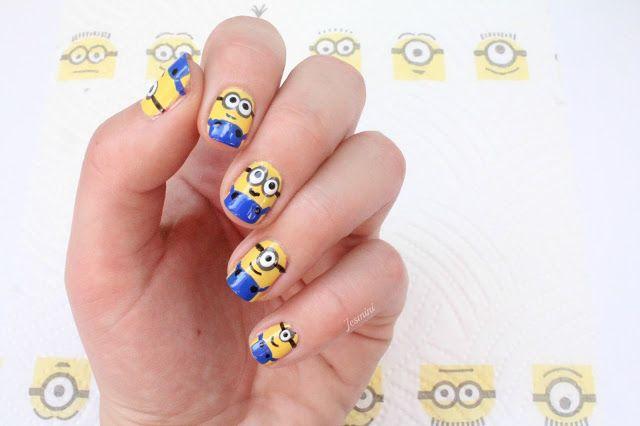 Jesmini Nailpolish : Minions Nails