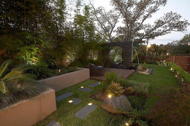Jardin paysager de design exclusif- Rolling Stone Landscapes
