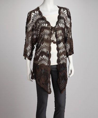 Willow Crochet Open Cardigan