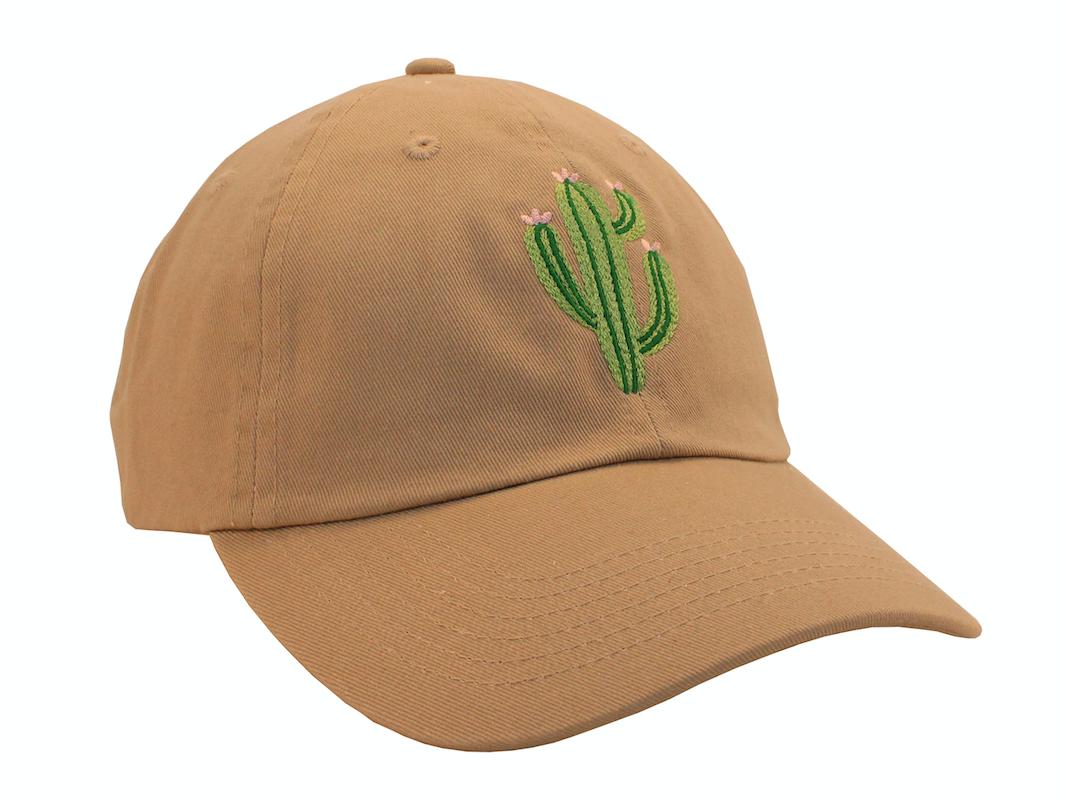 Cactus Embroidered Baseball Cap ee042a0de53f