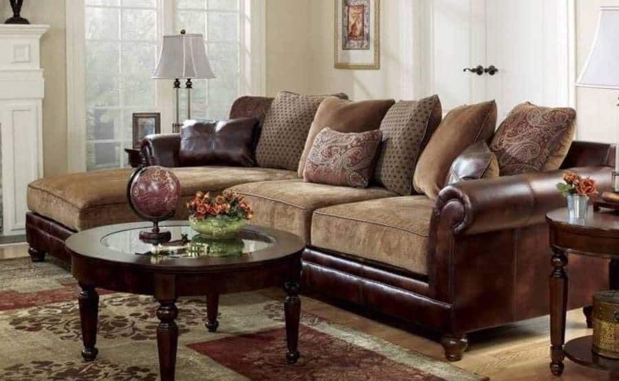 Awesome Furniture Durable Chenille Sofa Sanders Old World Faux Pdpeps Interior Chair Design Pdpepsorg