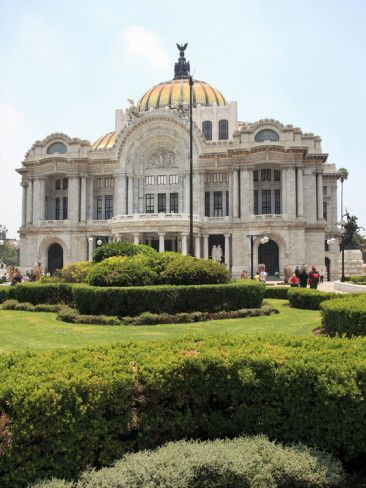 Palacio De Bellas Artes, Concert Hall, Mexico City, Mexico