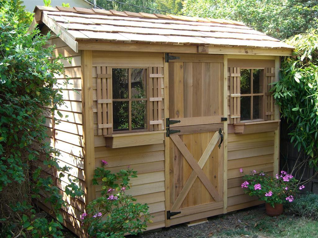 cedarshed cabana 9x6 shed - Garden Sheds 9x6