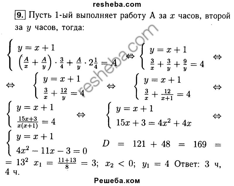 Скачать контрольную работу по алгебре 9 класс а г мордковича