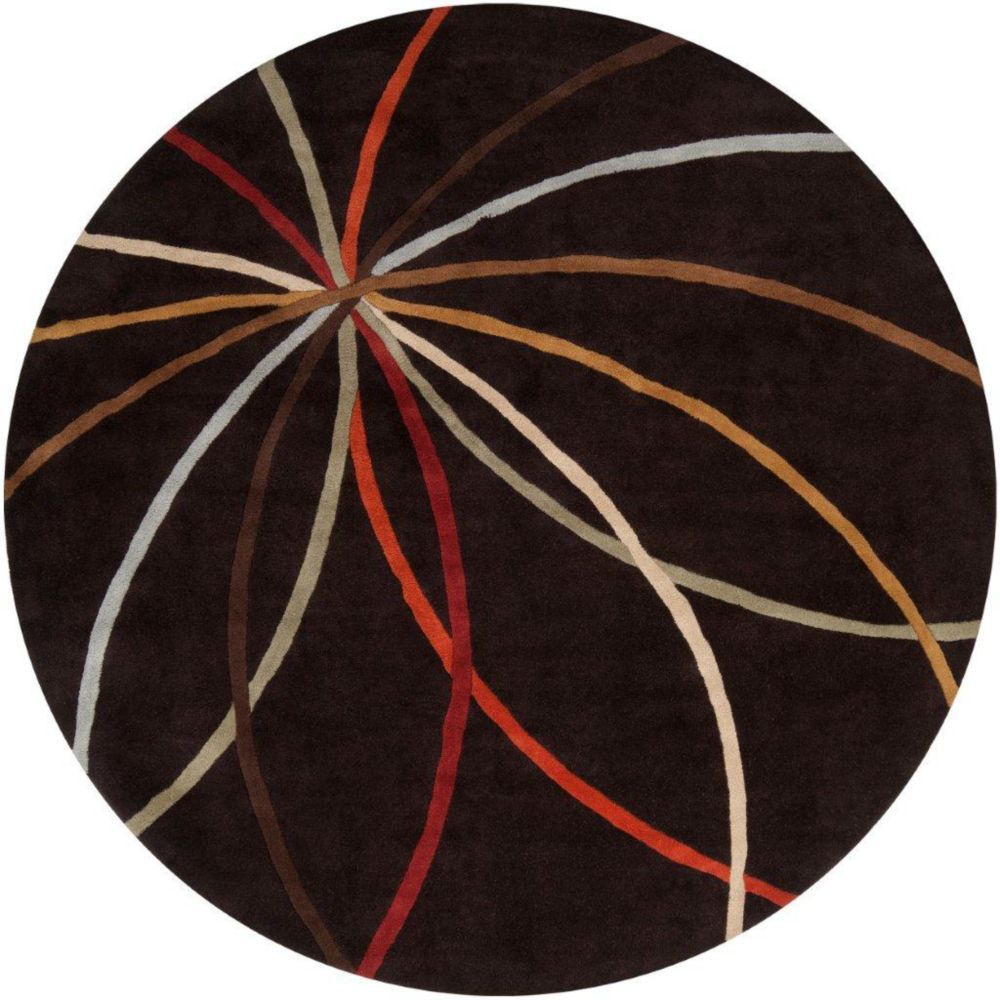 Sadirac Chocolate Wool Area Rug 4