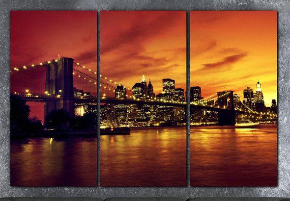 Stunning Night Time Gothic Skyline Wall Art sticker decal vinyl