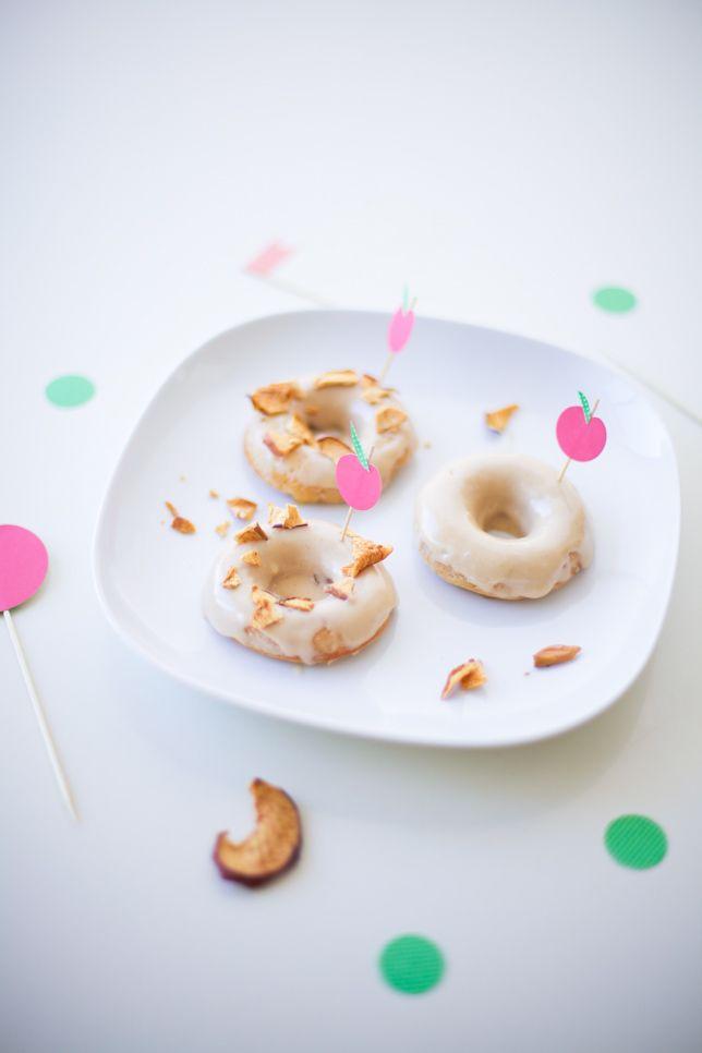 Adorable! apple pie donut recipe - coco cake land