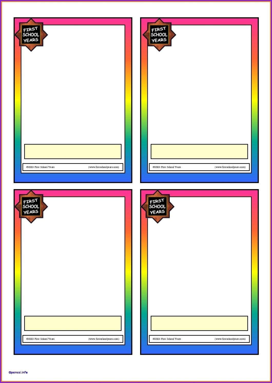 Printable Blank Flash Cards Cardjdi Org Flashcards Within