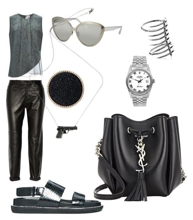 """""""Lead and steel."""" by caviar42 on Polyvore"""