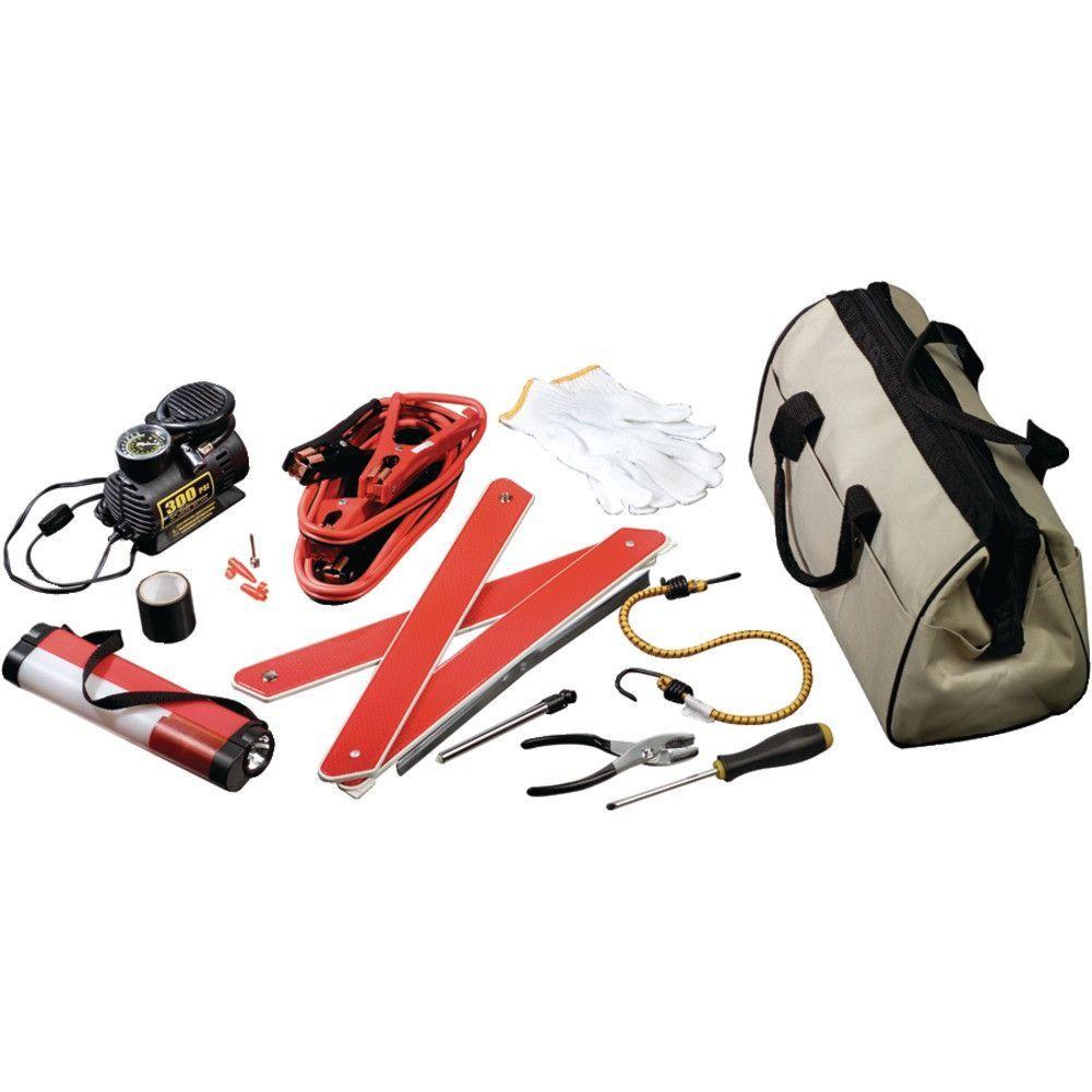Upg Emergency Road Kit Roadside emergency kit, Canvas